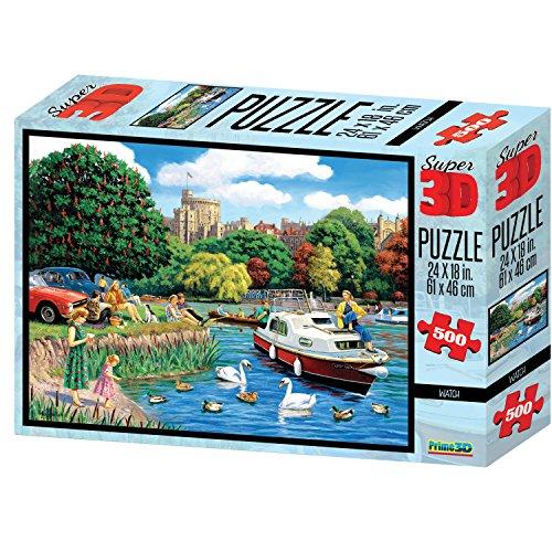 Kevin Walsh kw10034 Windsor Castle Super Puzzles 3D (500)