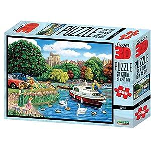 Kevin Walsh kw10034Windsor Castillo Super 3D Puzzles (500Unidades)