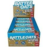 Battle Oats Glutenfreie Proteinriegel Cookies & Cream, 12 x 70 g