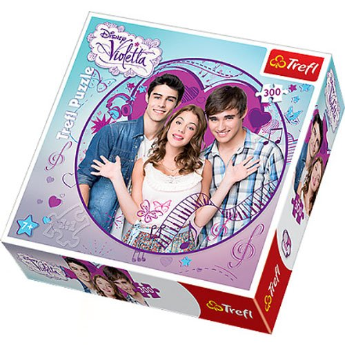 Weihnachtskalender Violetta.Puzzle Okragle Violetta I Przyjaciele 300