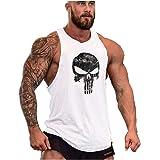 COWBI Uomo Bodybuilding Canotta Sportivo Tank Top Senza Maniche