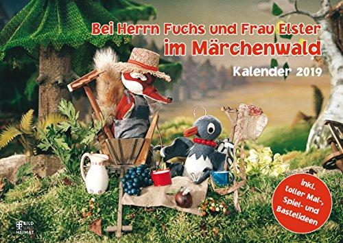 Bei Herrn Fuchs und Frau Elster im Märchenwald 2019: Kalender