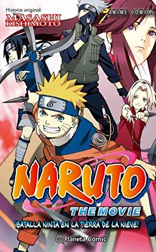 Naruto Anime Comic nº 02 ¡Batalla ninja en la tierra de la nieve! (NARUTO PELÍCULAS)