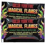 Evergreen Research magischen Flammen: erzeugt Lebendige, farbenfrohe Flammen für holzbefeuerten Feuer. (10)