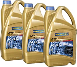 12 (3x4) Liter RAVENOL ATF M 9-G Serie Automatikgetriebeöl Made in Germany