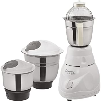 Varshine Happy Home || Fighter || Mixer Grinder || 500 Watts || Copper Winding Motor || is Approved Motor || 1 Season Warranty || 3 Speed Mode || with 3 Jars || New Stylish Deign || R-45