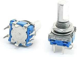 Sourcingmap 2 6 Mm D Schaft 5 Pins 360 Grad Rotary Encoder W Push Button Switch De Baumarkt