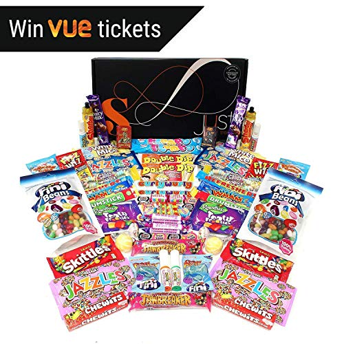 Retro Solar Sweets Hamper Perfect for Sharing - Contains 2 of Everything