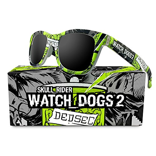 Preisvergleich Produktbild Skull Rider Herren Sonnenbrille grün Schwarz