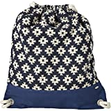 O'Neill Damen BW Jacquard Stroll Bags & Wallets, Blue AOP, 40 x 10 x 35 cm