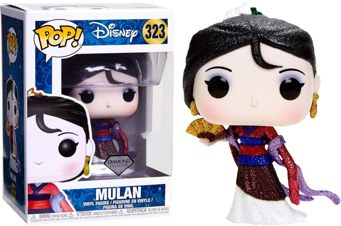 Funko Pop Mulán Glitter Diamond (Mulán 323) Funko Pop Disney