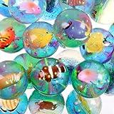 Best Juguetes y niño Bouncy Balls - 3D Tropical Fish Bouncy Ball Review