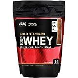 Optimum Nutrition Gold Standard Whey Eiweißpulver (mit Glutamin und Aminosäuren. Protein Shake von ON), Double Rich Chocolate Eiweiß, 14 Portionen, 450g