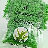Dxlta 50g Pearl Hard Wax Beans Hot Film Bead depilación depilación para el cuidado del cuerpo