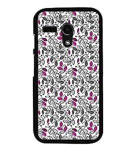 PrintVisa Designer Back Case Cover for Motorola Moto G3 :: Motorola Moto G (3rd Gen) :: Motorola Moto G3 Dual SIM (Floral Flowers Pattern Abstract)