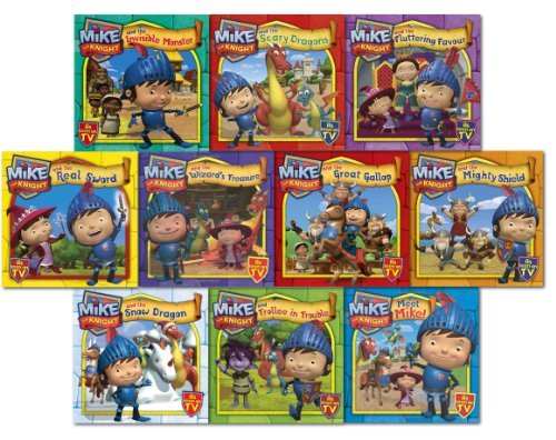 mike-the-knight-10-books-collection-pack-set-mike-the-knight-and-the-great-g