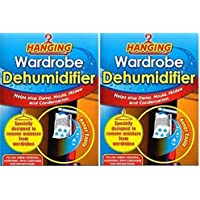 2 x Hanging Wardrobe Dehumidifier By 151 - Helps Stop Damp