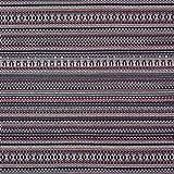 Fabulous Fabrics Strickstoff Muster – Marineblau — Meterware ab 0,5m — zum Nähen von Pullovern, Schals und Tüchern und Strickjacken