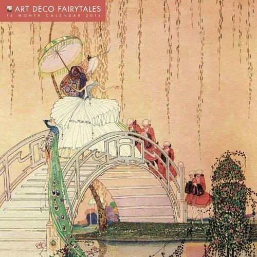 Art Deco Fairytales 2014 Calendar: With Glittered Cover