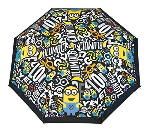 Perletti Ombrello Minions Bimbo 50/8 Man.3 Sez.Tondo A/Vento+Scat.Tta 75047