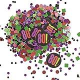 80 ° Festa enico'Compleanno Cheer' Confetti