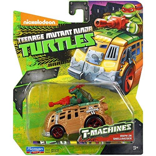 Teenage Mutant Ninja Turtles Teenage Mutant Ninja Turtles T Machines Raphael in Shellraiser Diecast Vehicle