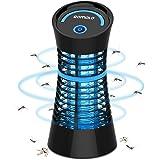 Qomolo Lampe Anti Moustique, UV Moustique Tueur Lampe Electrique Moustique Killer Lampe,Intérieur Destructeur De…