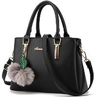 ZiXing Modetrend Handtaschen Schulter diagonal Tasche beiläufige Handtaschen Frauen Handtasche Schwarz