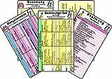 Beatmungs-Karten-Set für Kinder, Säuglinge, Früh- & Neugeborene - Medizinische Taschen-Karte: Beatmungs-Karten-Set (5er-Set) bestehend aus unseren ... - Fehlermeldungen, Ursachen & Neugeborene