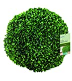 Gardman 02803 Topiary Ball Leaf Effect, Green, 40 cm