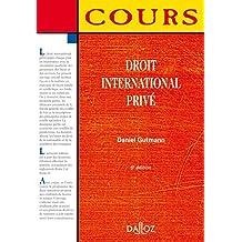 Droit international privé - 6e éd.: Cours