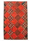Pak Persian Rugs Handgeknüpfter Flicken Teppich, Mehrfarbig, Wolle, Medium, 179 X 283 cm