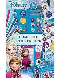 Estuche de Pinturas para Niños Disney Frozen 52 Piezas Set de Arte y Dibujo Producto Oficial