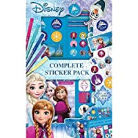 Kids Official Disney Frozen New 52 Piece Art Set Drawing Painting Carry Case