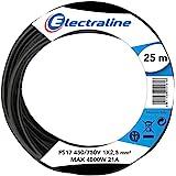 Energaline 13142 voertuigkabel FS17, deel 1 x 2,5 mm2, zwart, 25 m