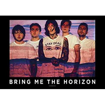 Bring Me the Horizon - Blood Lust - Posterflagge 100/% Polyester - 75x110 cm empireposter