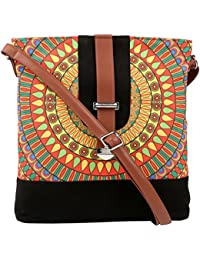 All Things Sundar Womens Sling Bag / Cross Body Bag - S14 - 77Y