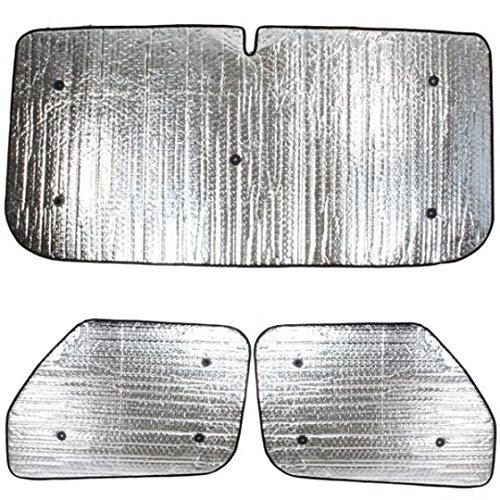 Preisvergleich Produktbild Summit sum-1626 Luxus-Thermo Rollo-Set passend für Peugeot Partner (1996–2007) Set,  3-teiliges Set