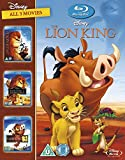 The Lion King 1-3 boxset [Italia] [Blu-ray]