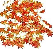 Stathm Artificial Ivy Leaf Plants Vine - Hanging Garland Fake Foliage Flowers Home Kitchen Garden Office Weddi