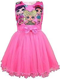 62d8a50da4c0 QYS Vestito da Ragazza LOL Gonna Tutu Toddler Abbigliamento per Bambini  Regalo di Compleanno Costume da