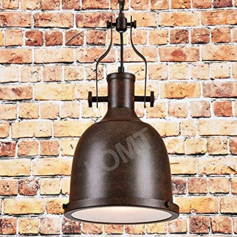 Farmhouse Big Bell Industrial Pendant Light Hanging Chains Ceiling Lamp