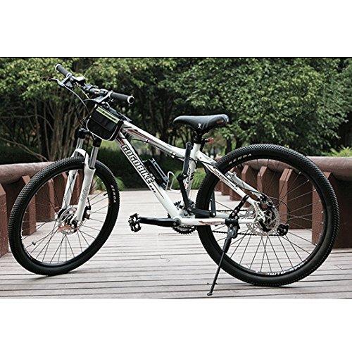 Baytter Fahrradschloss Faltschloss Fahrrad Motorrad mit Rahmenhalterung Schwarz - 5