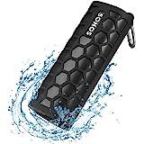 Seracle Siliconen Hoesje voor Sonos Roam Bluetooth Speaker waterdichte (Zwart)