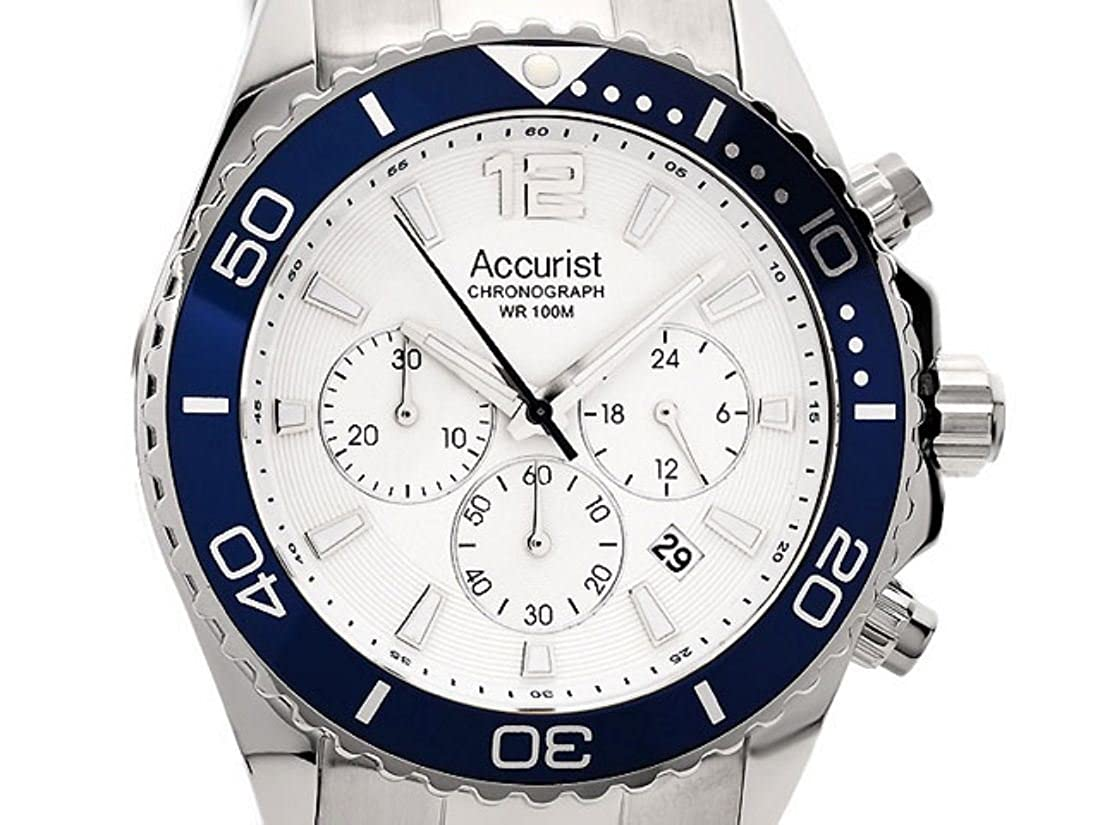 mens accurist london chronograph watch mb946nw amazon co uk watches