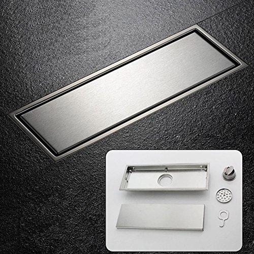drain de plancher avec passoire bonde d 39 coulement de douche en acier inoxydable caniveau de. Black Bedroom Furniture Sets. Home Design Ideas