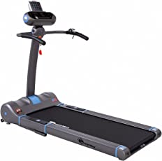 Powermax Fitness - UrbanTrek TD-A4-2.5HP, 100% Pre-Installed, Flat Surface, Motorized Compact Treadmill with Android & iOS App and Remote Control