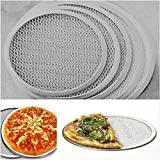 Gluckliy Pizza Screen Pizzagitter Backgitter aus Aluminium