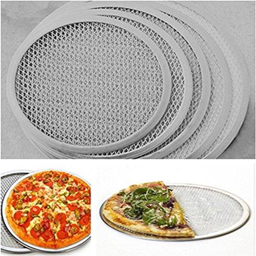 Gluckliy Pizza Screen Pizzagitter Backgitter aus Aluminium (7 inch)