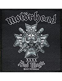 Motörhead Badges Bain Magic Patch tissé 10 x 10 cm